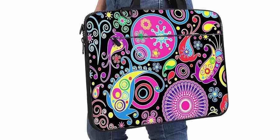 maletines de portatiles para mujer divertidos